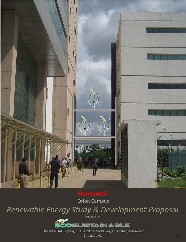 Honeywell Bangalore India,  Renewable Energy Study 2011