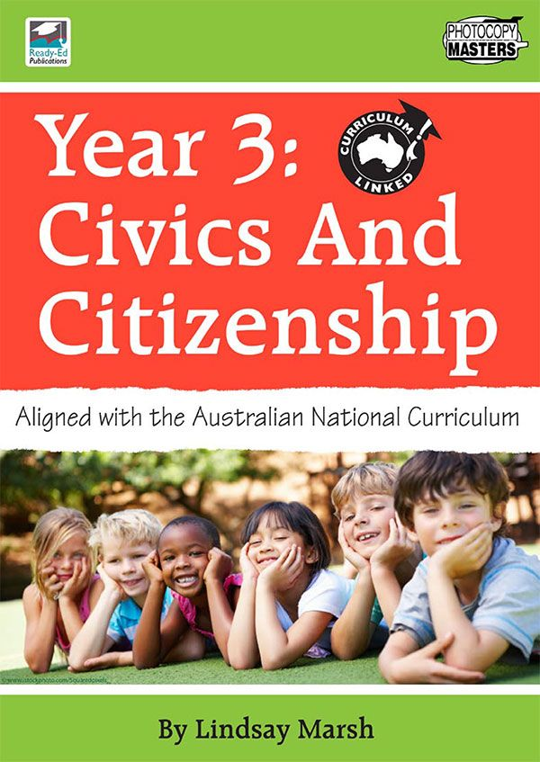Civics and Citizenship is a four book series (Years 3-6) that has been designed to help teachers meet the requirements of the new Australian National Curriculum. - See more at: http://www.teachersuperstore.com.au/product/australian-curriculum/civics-citizenship/#sthash.Wtk3ksbm.dpuf