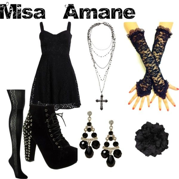 misa amane from death note by animeinspirations on