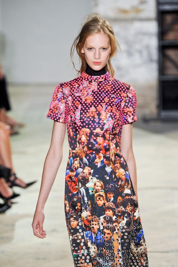 Proenza Schouler S/S '13: Pattern, Collage Dresses, Brill Prints, Ss13, Mass Dresses