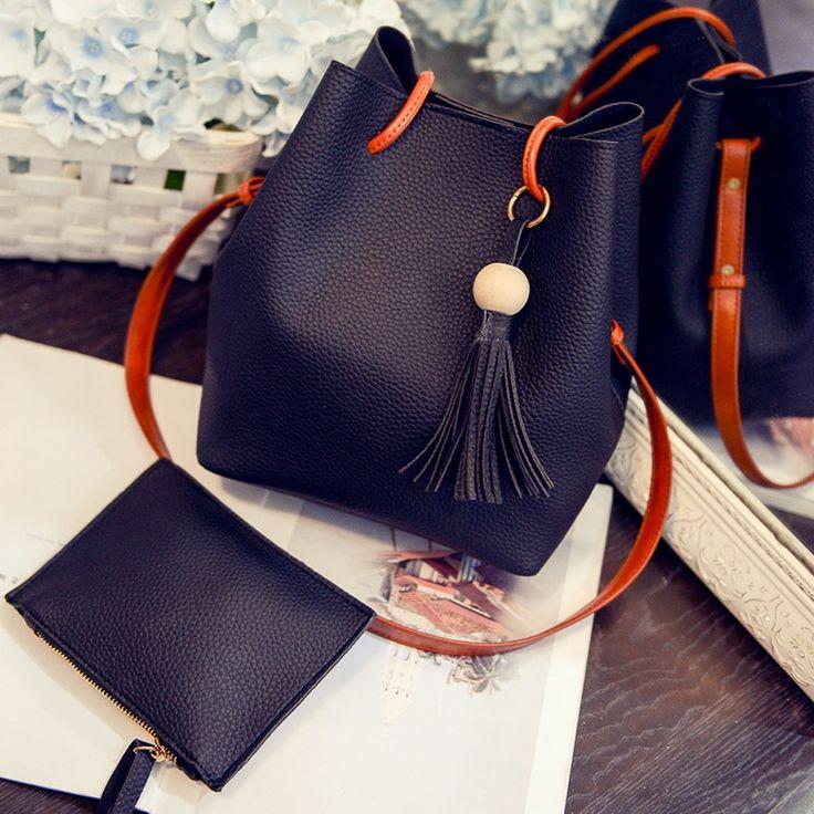$8.18 (Buy here: https://alitems.com/g/1e8d114494ebda23ff8b16525dc3e8/?i=5&ulp=https%3A%2F%2Fwww.aliexpress.com%2Fitem%2FHanup-fashion-women-s-bucket-bag-small-picture-package-sweet-tassel-handbag-messenger-shoulder-bag%2F32770622677.html ) Hanup fashion women's bucket bag small picture package sweet tassel handbag messenger shoulder bag for just $8.18