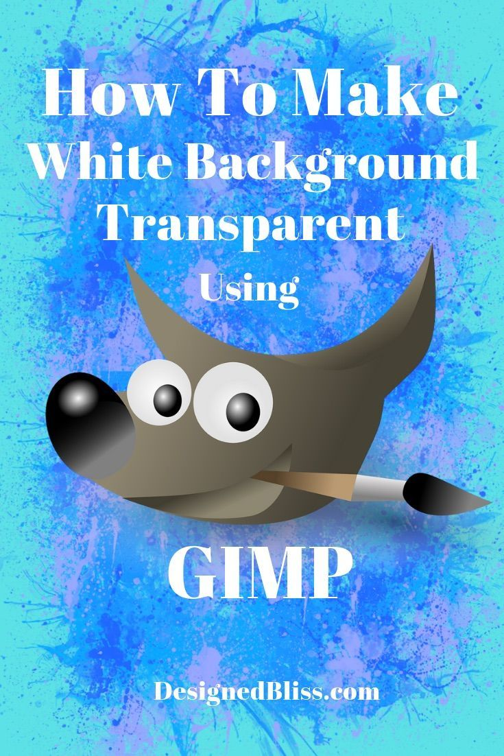 How To Remove Background Gimp : remove, background, Remove, Background, Image, Using, Photo, Editing,, Tutorial,