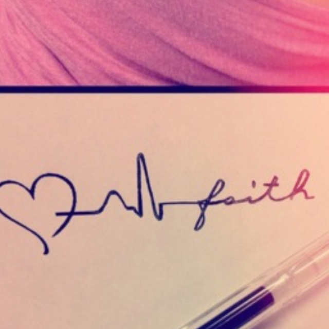 This tattoo, w/out the heart, & more emphasis on the heart monitor lines... ♥