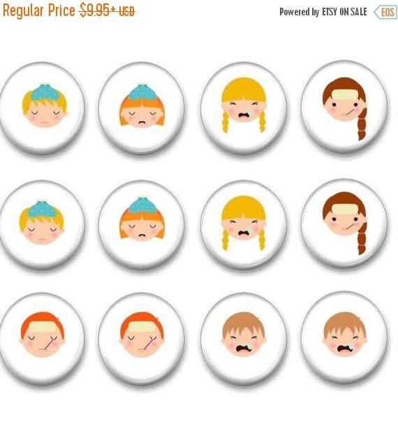 Sale School health office - School nurse - nurse supply - Teacher Gift - Autism - Stocking Stuffers - Gifts under 10 #preschool #magnets
