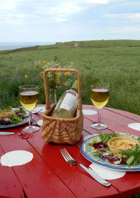Down On The Farm, Rosehearty, Fraserburgh, Aberdeenshire, Scotland. Glamping. Camping. Campsite. Outdoors. Holiday. Travel. Countryside.