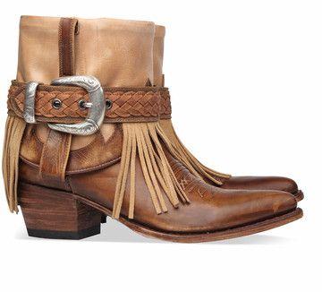 Bruine Sendra boots 11790 enkelaarsjes