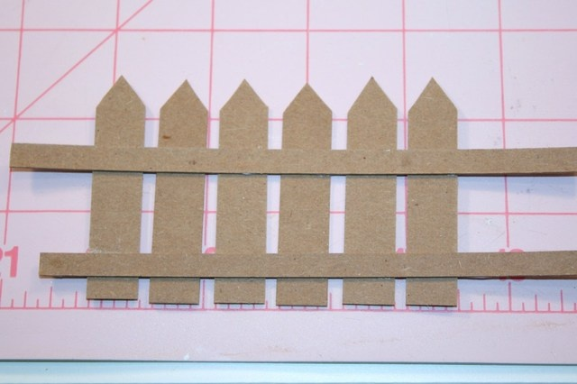 how to make a picket fence: Picket Fence