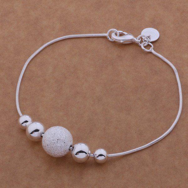 Silver plating bracelet, 925 stamped silver