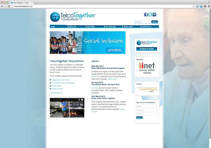Telco Together Website