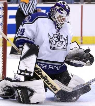 Felix Potvin #39 Los Angeles Kings hockey
