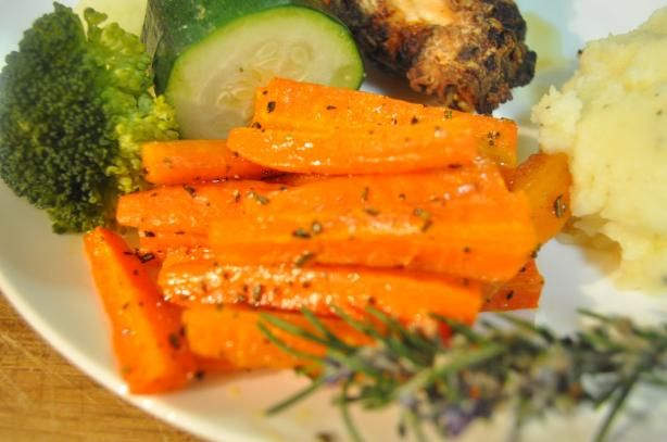 how to make carrot chips in the oven