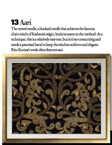 Exquisite Embroideries- AARI