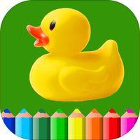 Детская Раскраска и рисование для малышей HD - детские развивающие игры и раскраска для маленьких детей мальчиков и девочек 2 - 6 лет, Andrey Minkov