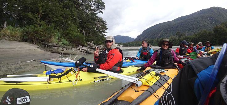 Kayak en Chile