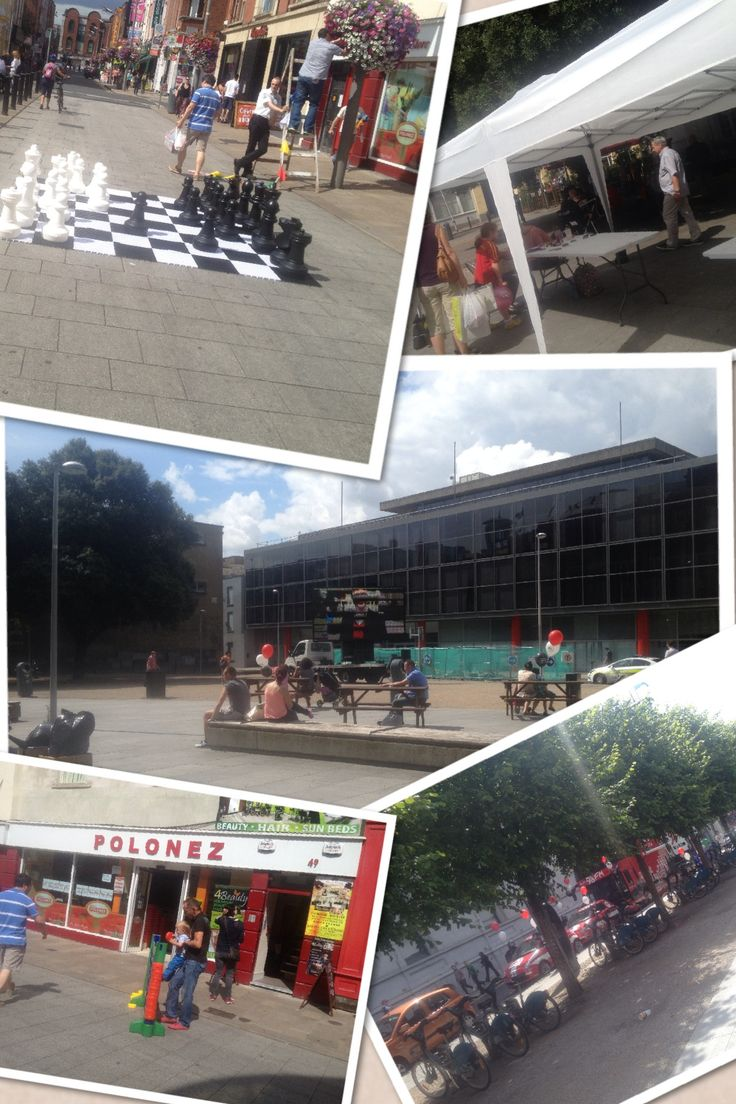 Family fun day in Wolfe Tone park