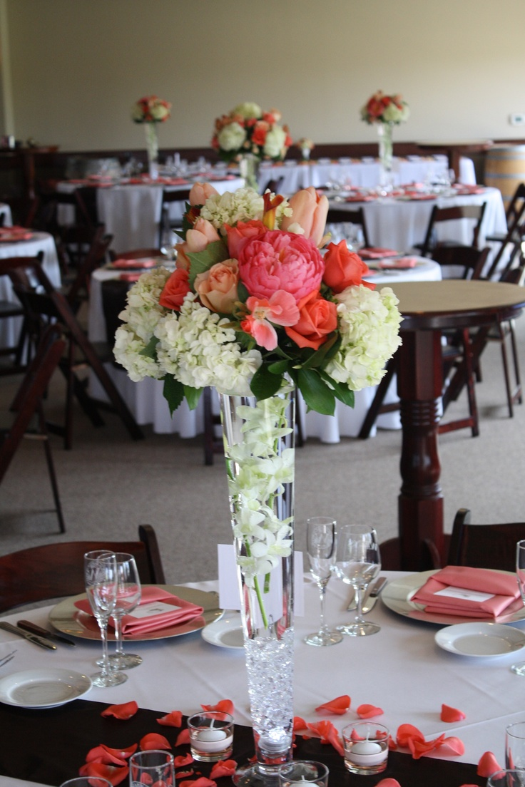 Best hydrangeas tulips and roses wedding images on