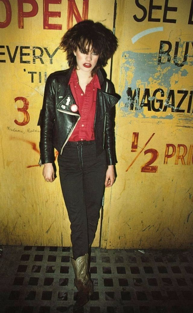 Portraits of Punk Rockers in the Late 1970s