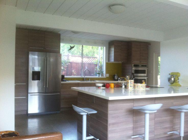 My Brokhult Heath Tile Yellow Orla Kiely Kitchen