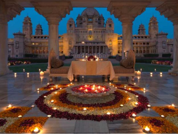 """There's even a special table called the """"Celebration Table"""" where you can propose to your beloved… 