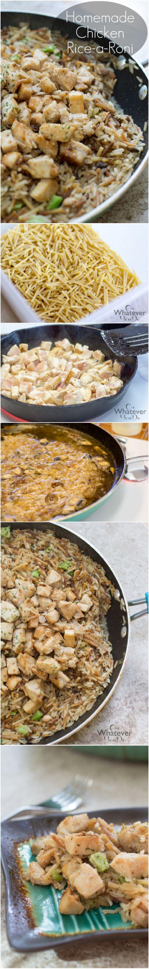 Homemade chicken recipes dinner