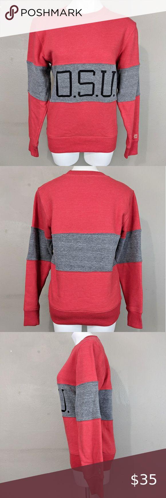 Homage Retro Look Ohio State University Sweatshirt Retro Look University Sweatshirts Homage Shirt [ 1740 x 580 Pixel ]