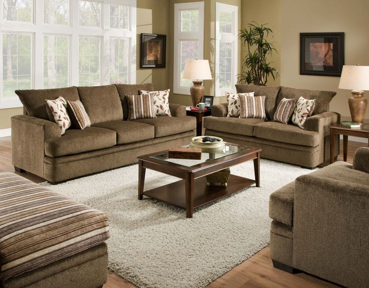 Awesome 36501661 In By American Furniture Manufacturing In McPherson, KS   Cornell  Cocoa Sofa