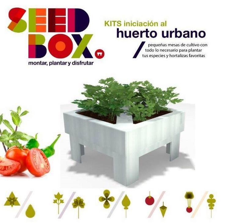 Mini mesas de cultivo para tener un huerto urbano mesas for 5 cultivos faciles para empezar un huerto en casa
