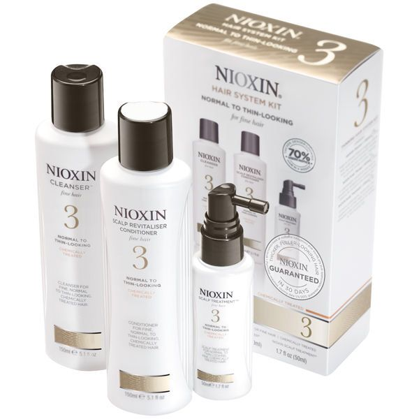 SYSTEM 3  AMPLIFIES HAIR TEXTURE AND RESTORES MOISTURE BALANCE. System 3 is specially designed for normal to thin-looking, fine, chemically treated hair. It amplifies hair texture while refreshing the scalp and providing moisture balance to colored hair.