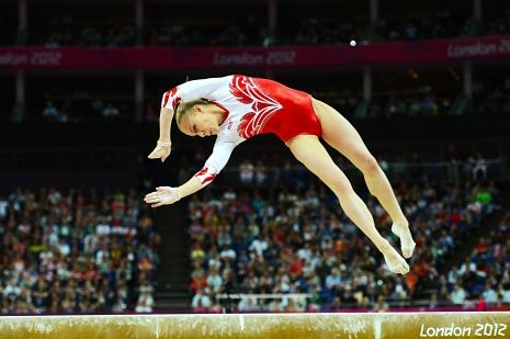 Katia Bachko: Why I Wish the Russian Gymnasts Had Won...  http://nyr.kr/QqFtjq (Photograph by Emmanuel Dunand/AFP/Getty Images.)