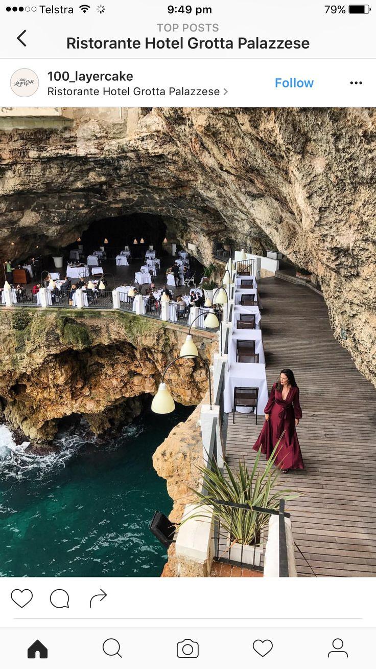 Ristorante Grotta Palezze, Via Narciso, 59, 70044 Polignano A Mare BA, Italy