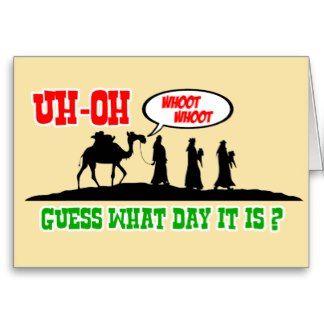 Hump Day Christmas card