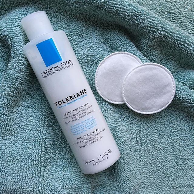 Starting 2017 right by taking off my makeup before bed. I love La Roche-Posay Toleriane Dermo Cleanser as it's great for my sensitive skin and can be used either with or without water, depending on how lazy I'm feeling 😬. Kiana Beauty Melbourne are proud to be authorised online Australian stockists of La Roche-Posay.
