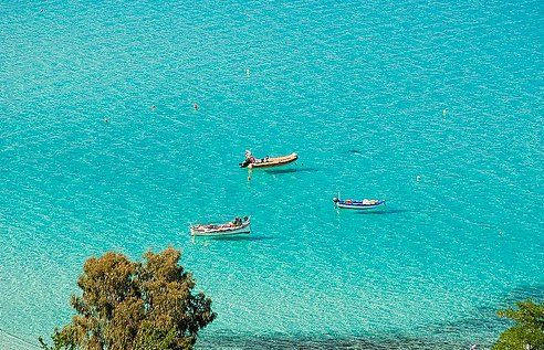 Armenistis, Halkidiki.  Somewhere here I spent the last summers.