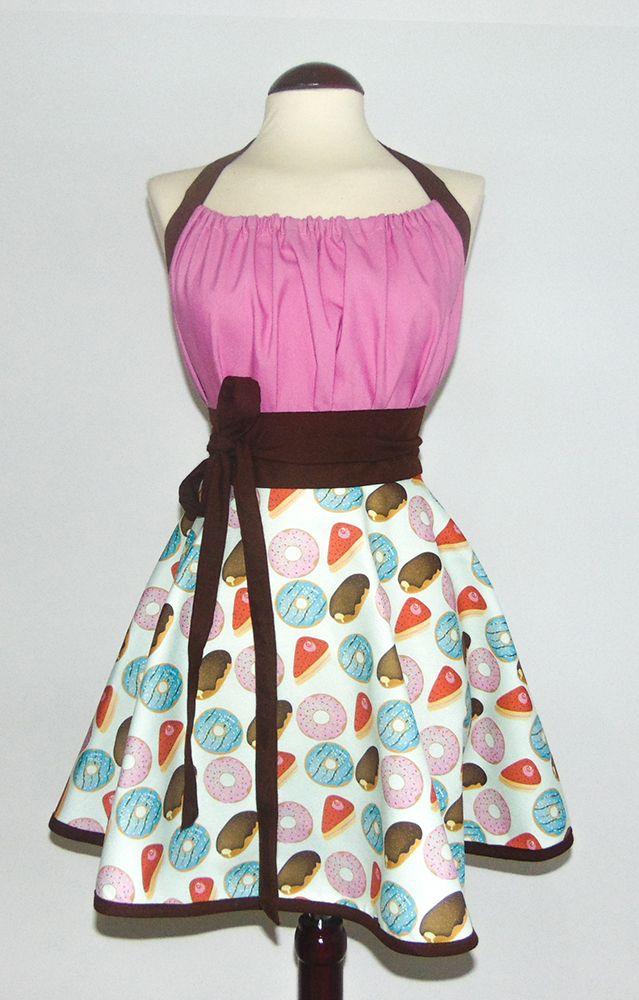 So delicious! (Delicioso!) La tela de la falda es un diseño unico creado por por Iván Gallo Delantal 30% algodón y 70% poliéster Tela proveniente de España