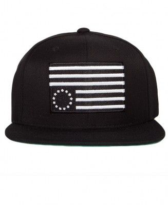 Black Scale - Rebel Slam Snapback Cap - $36
