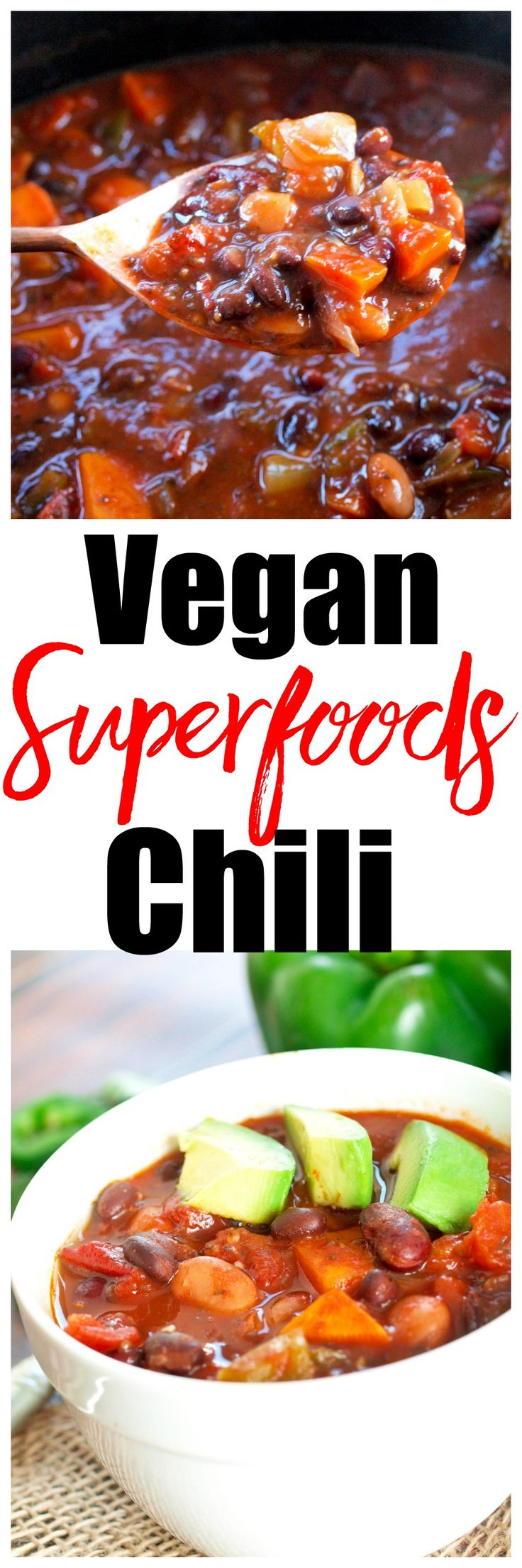 Crock Pot Brand Slow Cooker Vegan Superfoods Chili Recipe
