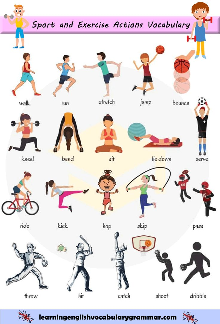 sport and exercise actions verbs vocabulary list anglais fran ais english vocabulary. Black Bedroom Furniture Sets. Home Design Ideas