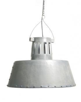 Grote hanglamp grijs