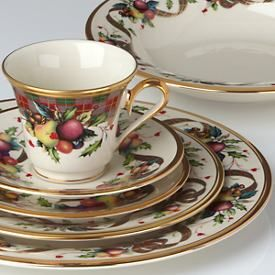 China and Dish Patterns--Lenox \u0027Holiday Tartan\u0027 : lenox tableware - pezcame.com