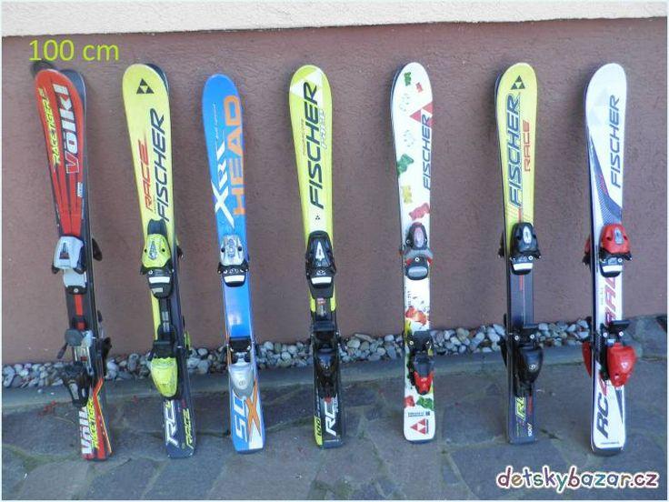 Dětské lyže z bazaru