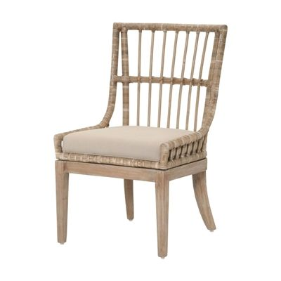 orient express furniture 6831stolgry new wicker playa pole rattan dining chair wicker dining chairs