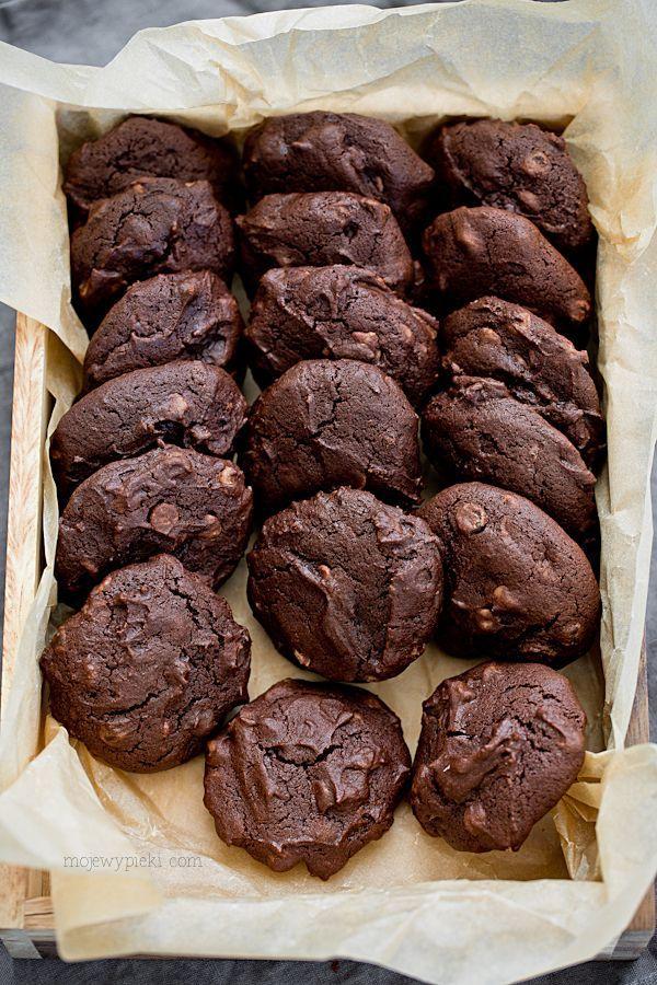 Moje Wypieki | Gryczane ciastka czekoladowe