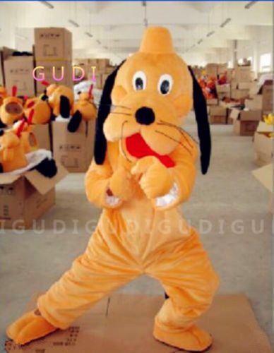 High Quality Animal Dog Cartoon Mascot Costumes Halloween Party Adult Size