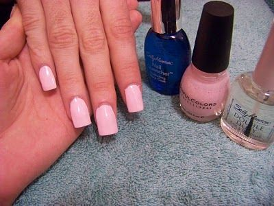 Tutorial : painted Acrylic Nails