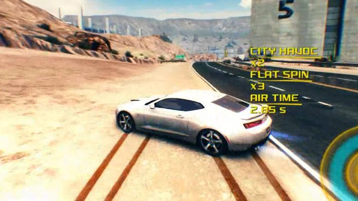 Asphalt 8 Airborne Chevrolet 2016 Camero SS With White Paint