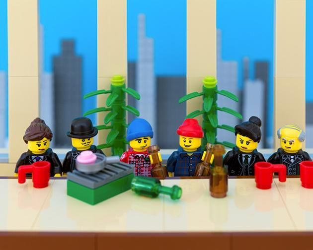 LEGO Canada provinces - Ontario - Boardrooms of Canada echo with the call of the Great White North.