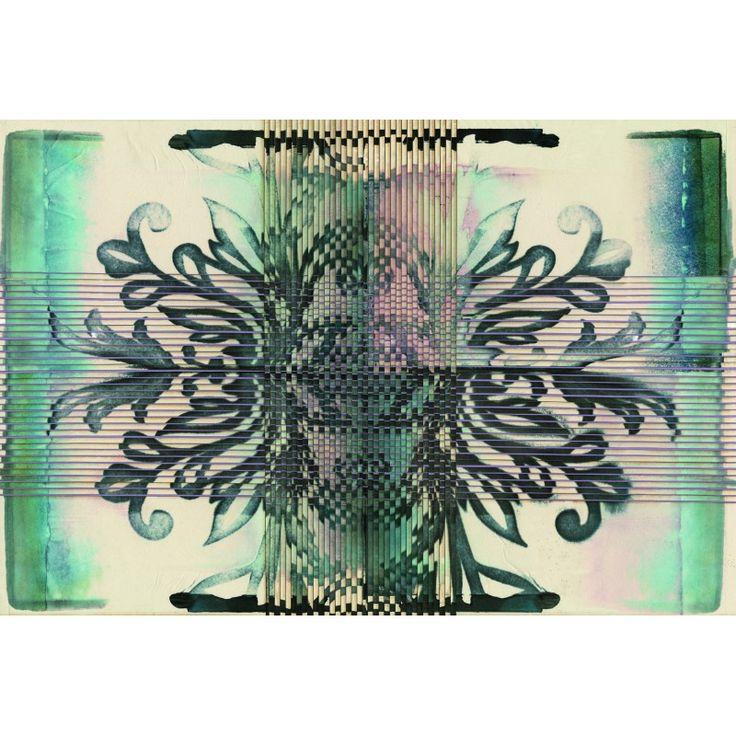 Tile - mozaik - absztrakt mintás poszter tapéta
