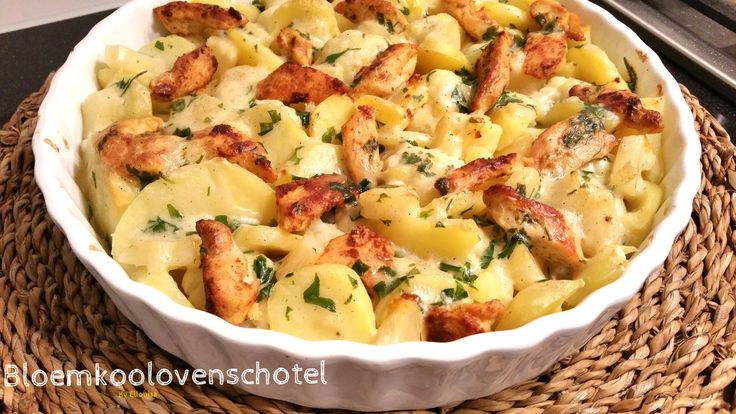 Ik kwam erachter dat ik maar weinig ovenschotels op mijn blog heb staan, dus gisteren een lekkere ovenschotel gemaakt met aardappel, ...