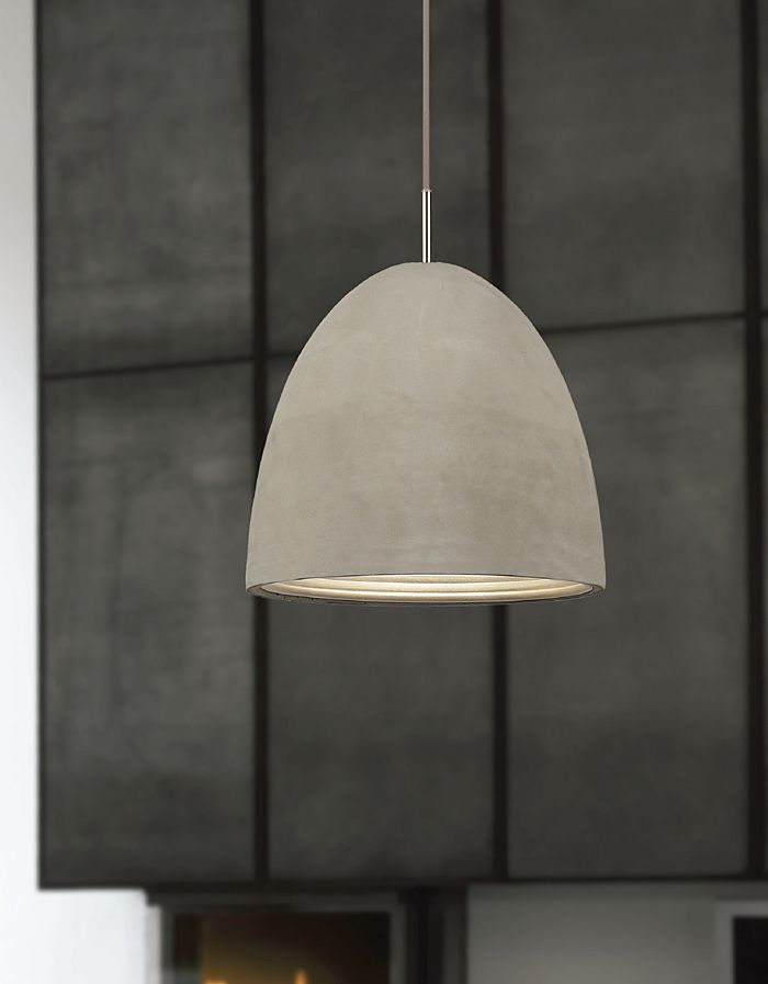 """Featuring 4 sizes the """"Caementum"""" range is made from actual hand cast concrete. A Beautifully textured concrete exterior with an anodised silver interior. Featuring polished chrome details and ..."""