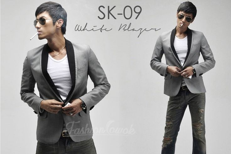 SLIM FIT KOREAN BLAZER